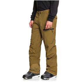 Quiksilver Utility Pantaloni Da Snowboard Uomo, military olive